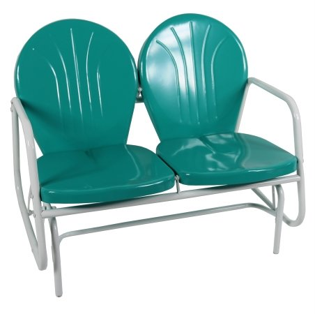 Jack Post BH-10EM Porch Glider,Turquoise by Jack Post