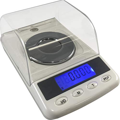 Optima Home Scales Quartz Milligram WEIGH Scale White, QU-53