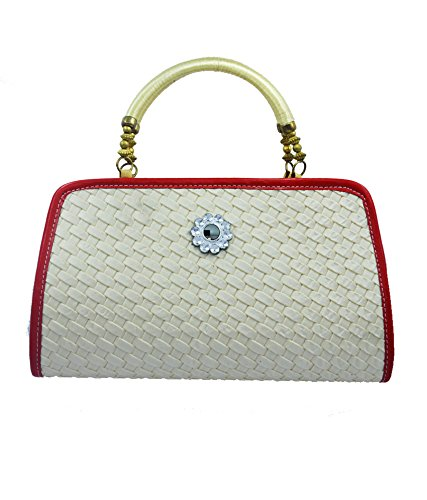 LADY QUEEN Women s Synthetic White Shoulder Bag  Amazon.in  Shoes   Handbags 0142f170d6576