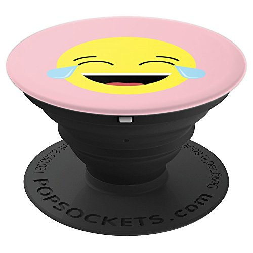 Laughing Tears Emojis Art | Cute Happy Laugh Face Art Gift - PopSockets Grip and Stand for Phones and Tablets for $<!--$15.99-->