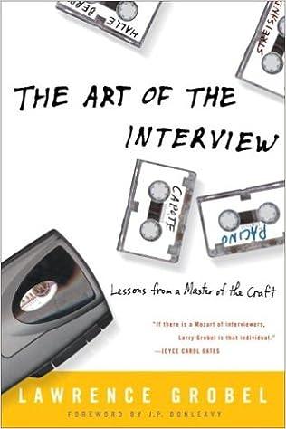 Resultado de imagen para grobel the art of the interview