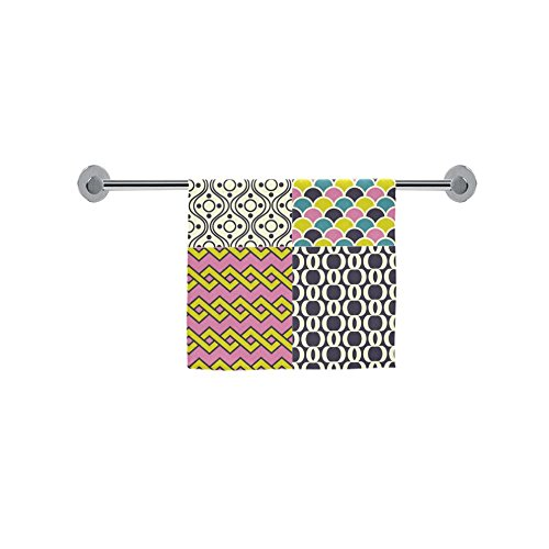 ADE Fashion Custom Towel Seamless Retro Geometric Wallpaper