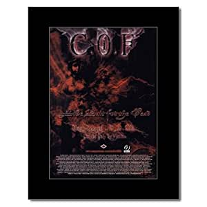 CRADLE OF FILTH - Live Bait For The Dead Mini Poster - 28.5x21cm