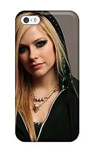 High Grade Matt L Morrow Flexible Tpu Case For Iphone 5/5s - Celebrity Avril Lavigne