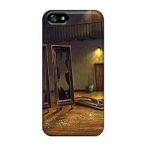 Awesome IhJxNjc1671TaSVk MeSusges Defender Tpu Hard Case Cover For Iphone 5/5s- Dark Arcana The Carnival03 by heywan