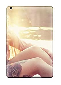 Hot Snap-on Cool Tattoo Girl Hard Cover Case/ Protective Case For Ipad Mini/mini 2