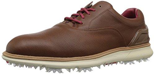 (Callaway Men's LaGrange Golf Shoe, Brown, 13 M US)