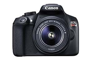 Canon Cámara Digital SLR EOS Rebel T6 Kit con lente EF-S 18-55mm, f/3.5-5.6 IS III