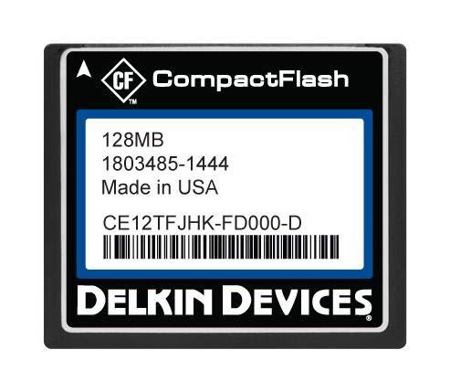 - CE12TFJHK-FD000-D - Flash Memory Card, SLC, Compact Flash Card, Type I, 128 MB, C400 Series (Pack of 2) (CE12TFJHK-FD000-D)