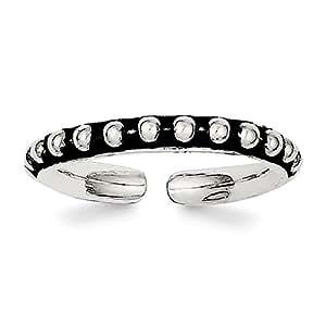 Lex & Lu Sterling Silver Toe Ring LAL116628