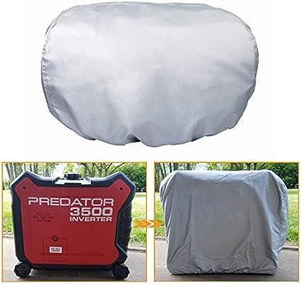 Debris Outdoor Storage Cover Againest Dust Rain Weather Wadoy Generator Cover Waterproof for Honda Eu3000is/&Predator 3500