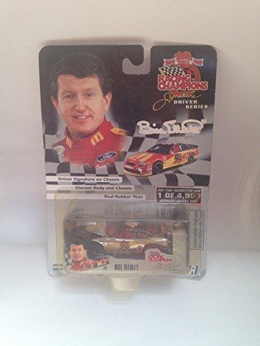 #94 McDonald's Drrive Thru Bill Elliott Racing Champions 10 years 1989-1999 1:64 Offical NASCAR Diecast Car (Champions Racing Bill)