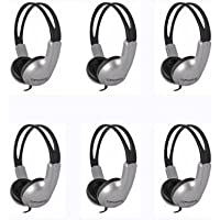 Koss ED1TC 6-Pack Stereo Headphones for Schools / Libraries / Educational - Free Shipping to US 48
