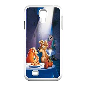 Lady And The Tramp Cartoon Samsung Galaxy S4 90 Cell Phone Case White Gift pjz003_3270978