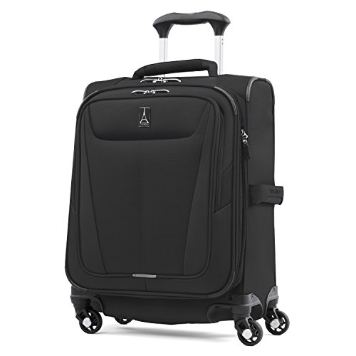 Travelpro Luggage International Carry-on, Black (Best 4 Wheel Suitcase Review)