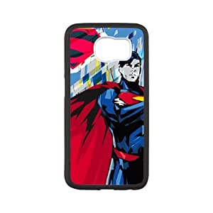 Samsung Galaxy S6 Phone Case Black Honor Superman JR2L1DHT Cell Phone Back Covers