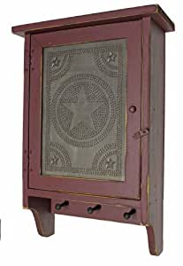 Amazon Cabinet Country Rustic Primitive Wood