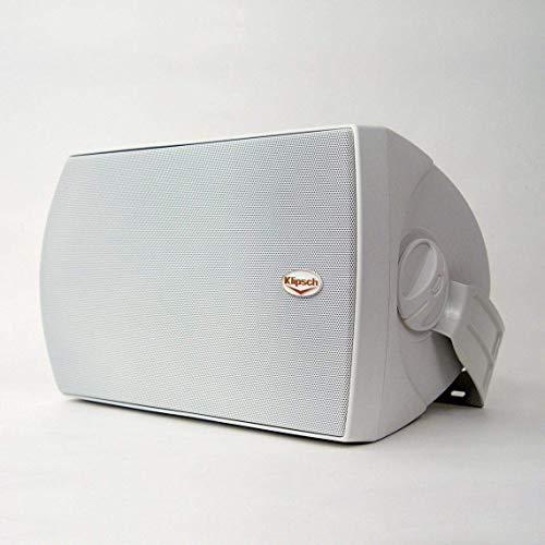 Klipsch AW-650 Indoor/Outdoor Speaker - White (Pair) (Renewed) (650 Klipsch)