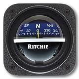 E.S. Ritchie V-537B Ritchie V-537B Explorer Compass - Bulkhead Mount - Blue Dial