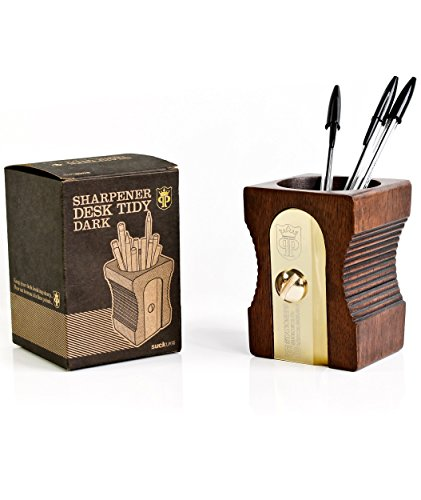 Suck uk pencil sharpener desk tidy dark - Pencil sharpener desk tidy ...