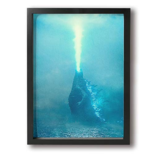 Little Monster Godzilla Stretched Painting On Canvas Decorations Modern Artwork Art for Boys and Girls Bedroom -