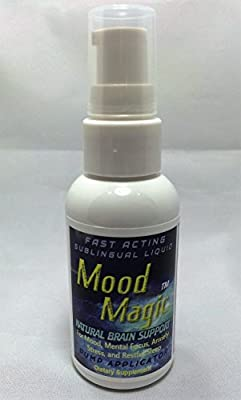Mood MagicTM, Fast Acting Herbal Sublingual Liquid, Designed to Rapidly Lift & Improve Mood, Reduce Stress & Anxiety, and Enhance Cognitive Functioning by NuPath Labs-Mood Enhancer & Stress Reducer