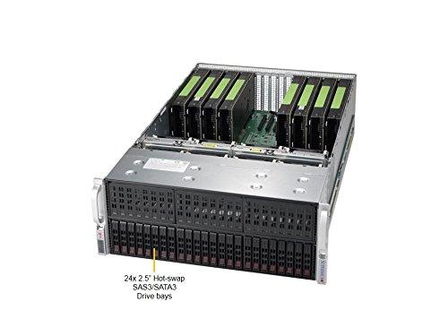 Supermicro SuperServer 4028GR-TR2 Barebone System - 4U Rack-mountable - Intel C612 Chipset - Socket R3 LGA-2011 - 2 x Processor SYS-4028GR-TR2