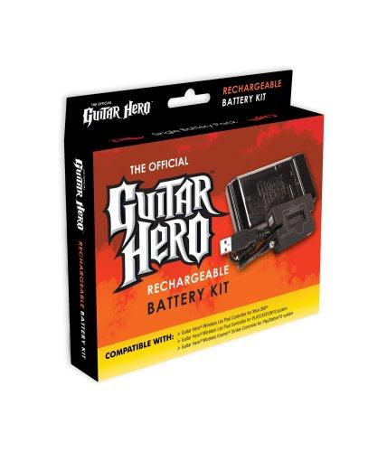 Guitar Hero Battery Rechargeable - Guitar Hero Rechargeable Battery Pack Kit for Wireless Guitars