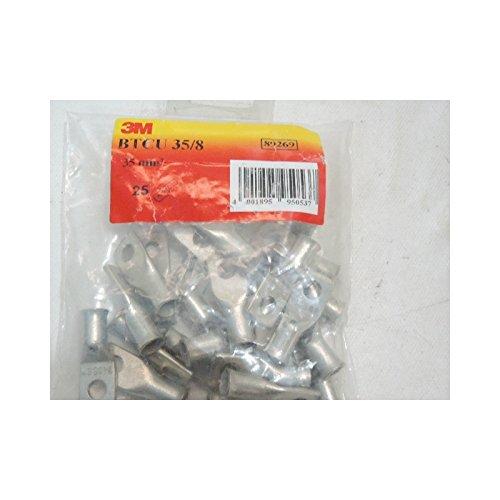 trou Ø 6 Cosse à sertir 35 mm² Lot de 2 pièces