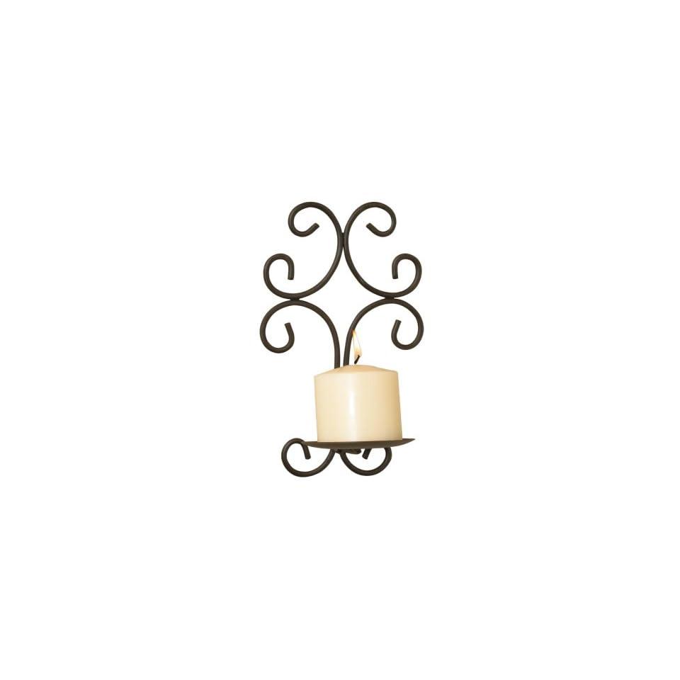 Luca Bella Home™ Encantado Wrought Iron Wall Sconce