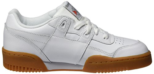 Reebok Reebok Royal Garçon Workout 000 Blanc Chaussures White Fitness de Classic Carbon Plus Red Gu rXrqZP7