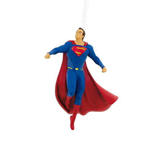 Hallmark Christmas Ornament, Justice League Superman Resin Figure]()