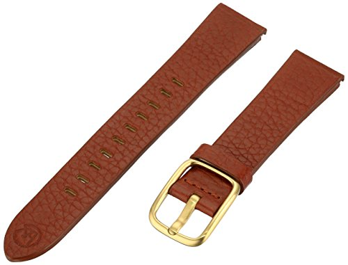B&nd by Hadley Roma with MODE18mm Leather Calfskin Brown Watch Strap