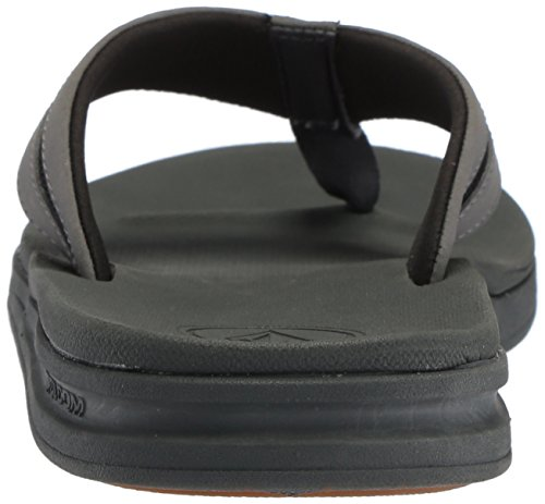 Volcom Mens Draft Flip Flop Sandal Black Combo ALKaRYcYSB