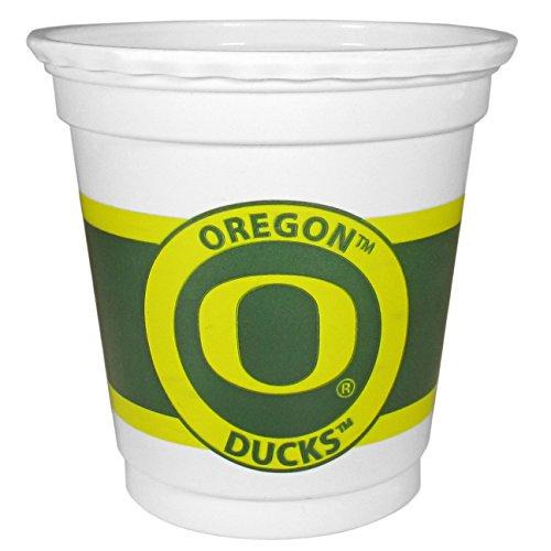 NCAA Oregon Ducks 18 Count Game Day Mini Cups, White, 2 oz