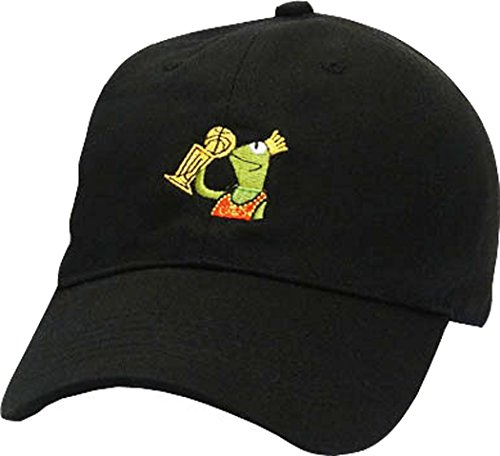 FGSS The Champion Frog None of my Business Strapback Dad Hat Baseball Cap (Funny Caps)