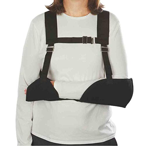 (Harris Hemi-Arm Sling, Black, Right)