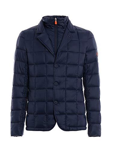 The Polyamide D3714MGIGA7009 Jacket Save Duck Down Men's Blue FxSwvOdqU
