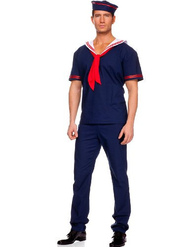 MUSIC LEGS Ahoy Matey, Navy, Medium -