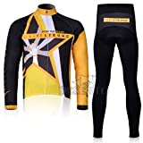 2012 LIVESTRONG team harness long-sleeved cycling clothing / bike clothing breathable perspiration (yellow, S)