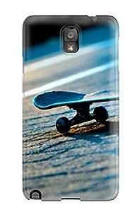 Excellent Design Skateboard Phone Case For Galaxy Note 3 Premium Tpu Case