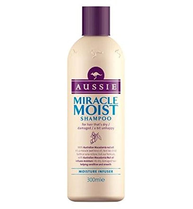 成人期アボート青オージー奇跡湿ったシャンプー300ミリリットル (Aussie) (x2) - Aussie Miracle Moist Shampoo 300ml (Pack of 2) [並行輸入品]
