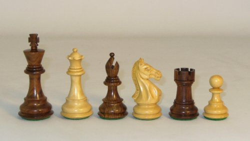 Checkmate Sheesham Pro Chessmen by Checkmate