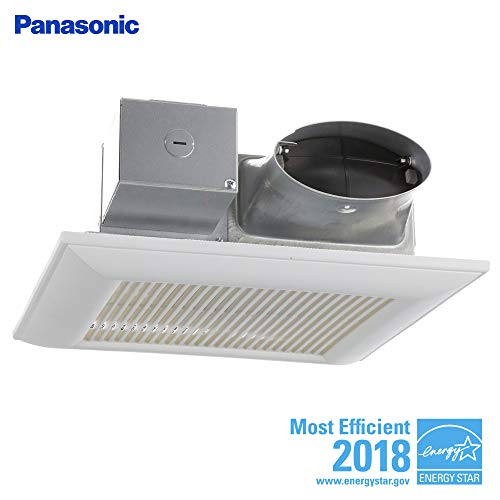 Panasonic FV-0810VSS1 WhisperValue Multi-Flow Bathroom Fan, White
