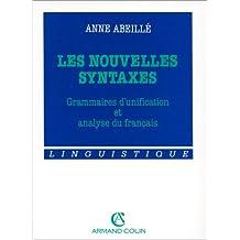 les nouvelles syntaxes. grammaires d'unification