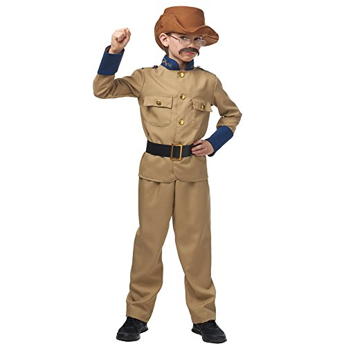 Costume Culture Big Boy's Teddy Roosevelt Child Costume Childrens Costume, tan, Small