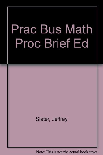 Practical Business Math Procedures, 9th Edition
