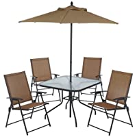 Surprising Sale 6 Piece Outdoor Folding Patio Set With Table 4 Uwap Interior Chair Design Uwaporg