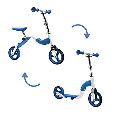 SCOOBIK Azul - Scooter y Bicicleta 2 en 1 - by Bestial Wolf ...