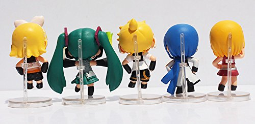 Amazon.com: 10pcs/set 6 cm Figura Nendoroid Petit Vocaloid ...
